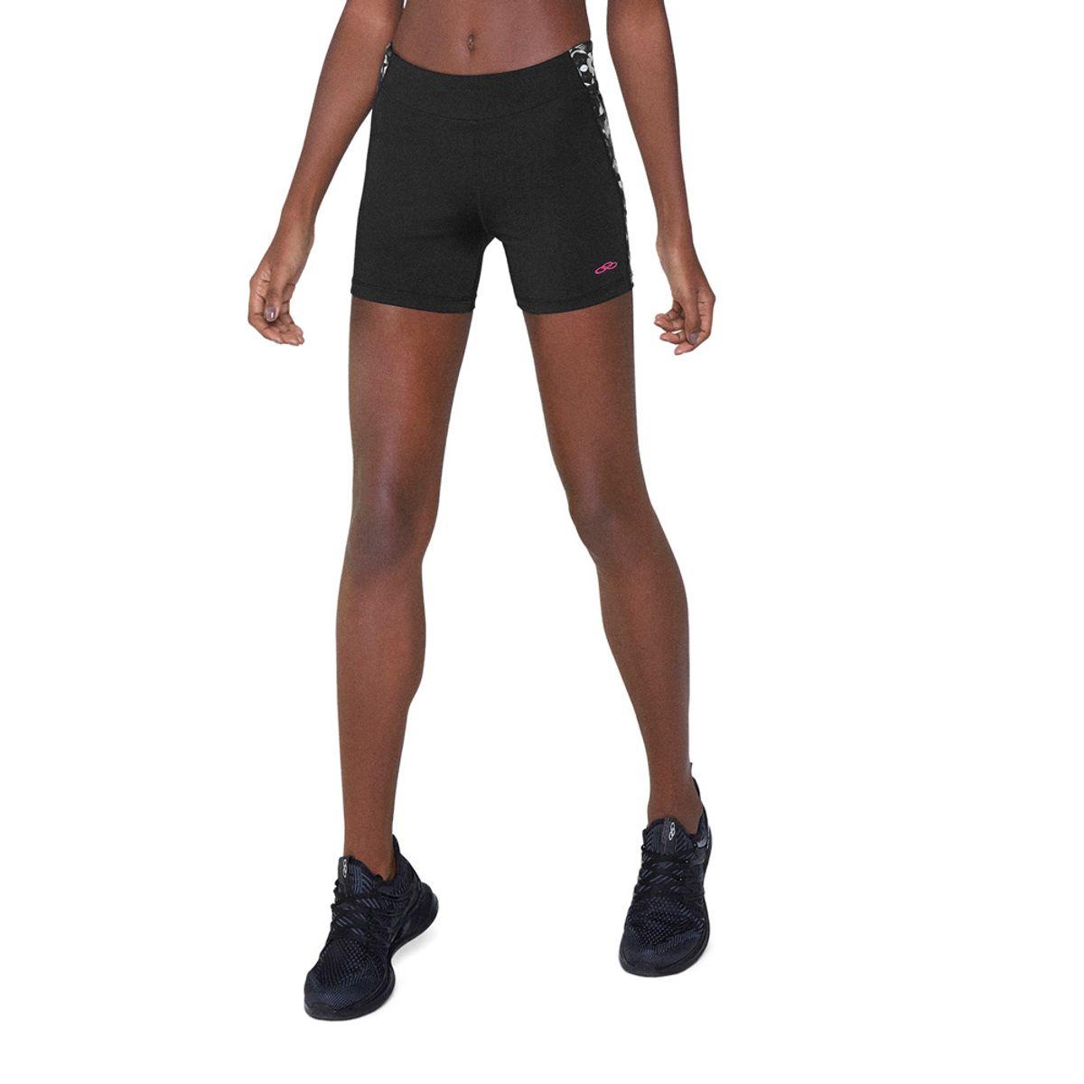 Shorts de Treino Feminino Turn Printed Olympikus